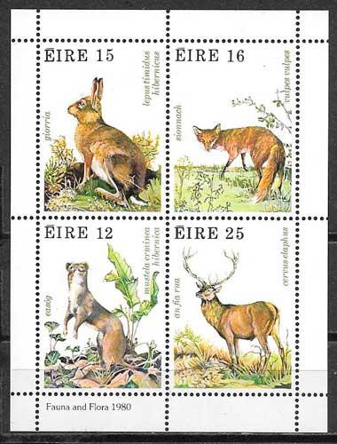 sellos fauna Irlanda 1980