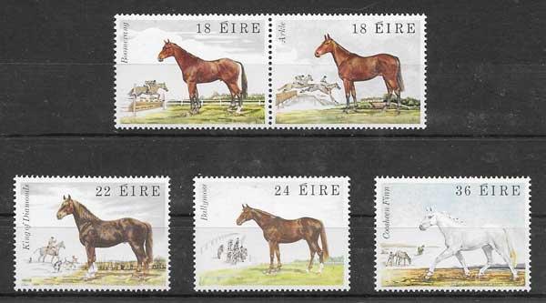 Sellos filatelia Fauna de Irlanda 1981