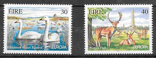sellos Tema Europa Irlanda 1999