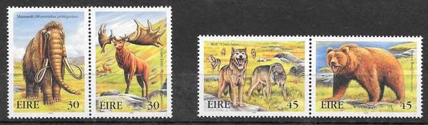 sellos fauna Irlanda 1999