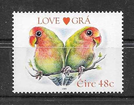 Sellos filatelia Fauna Irlanda 2005