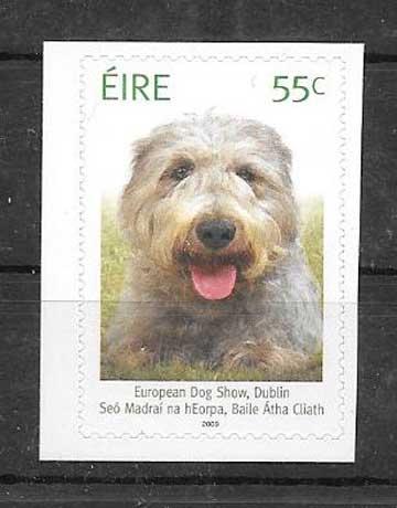 Sellos Fauna perro Irlanda 2009