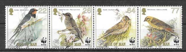 Estampillas fauna protegida 2000