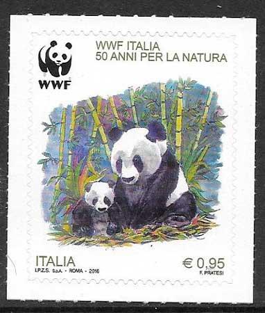 filatelia fauna wwf Italia 2016