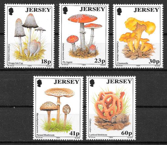 selos setas Jersey 1994