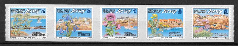 sellos flora Jersey 2003