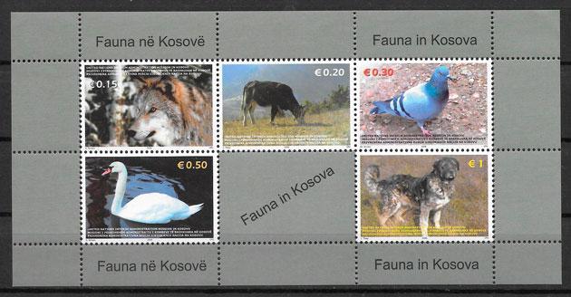 sellos fauna Kosovo 2006