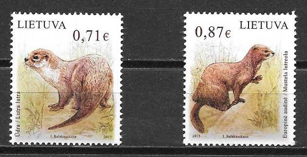 Sellos fauna Lituania 2015