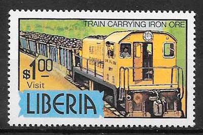 filatelia tenes Liberia 1980