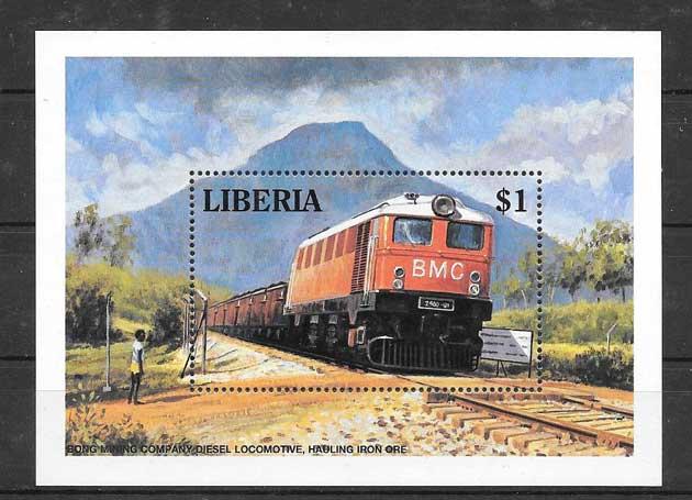 Colección sellos Liberia-1994-02
