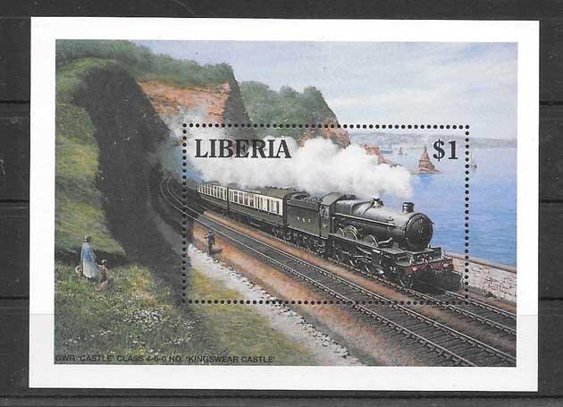 Colección sellos Liberia-1994-03