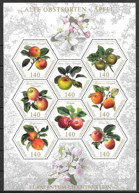 sellos flora Lichtentein 2015
