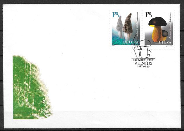 colección sellos Lituania 1997