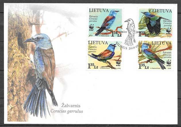 Filatelia fauna protegida 2008