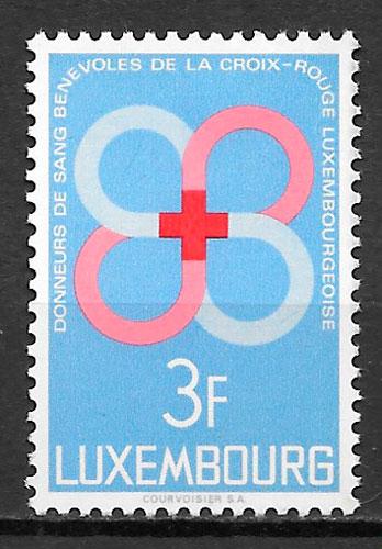 sellos cruz roja 1968 Luxemburgo