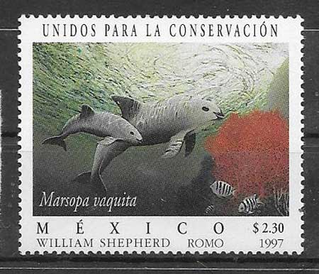 Filatelia fauna México 1997