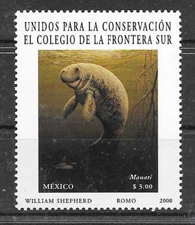 Filatelia fauna México 2000