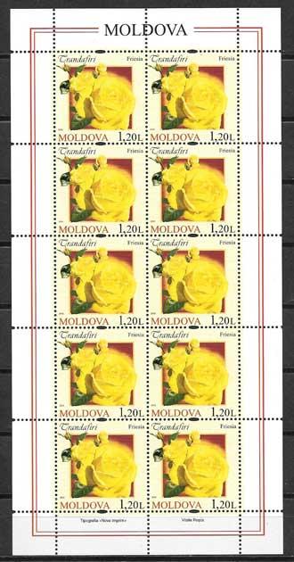 Colección sellos Moldavia-2012-03