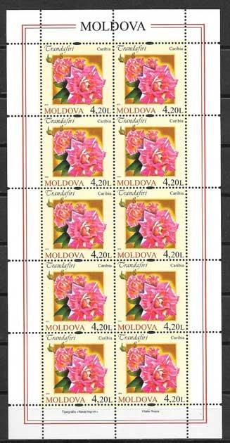 Colección sellos Moldavia-2012-05