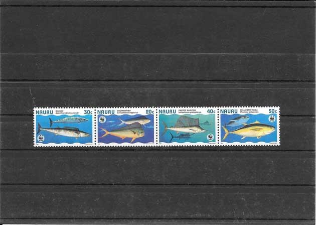 Colección sellos protección de fauna marina