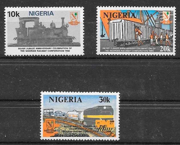 sellos colección Niger 1980