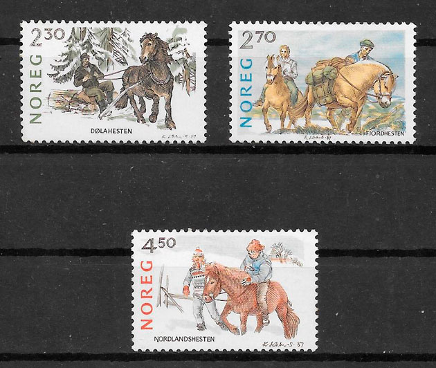 sellos fauna Noruega 1987