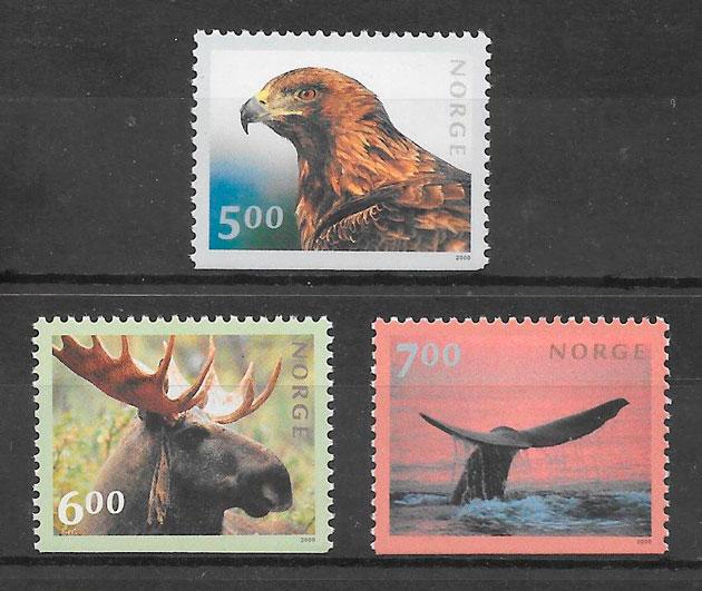 sellos fauna 2000 Noruega