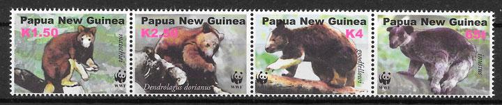 sellos wwf Papua y Nueva Guinea 2003