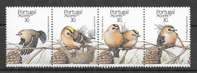 Sellos fauna protegida de Azores