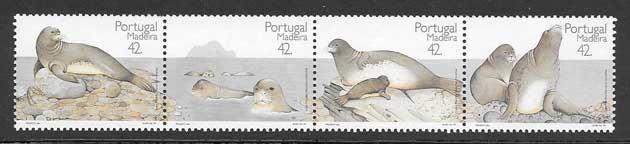 Filatelia sellos protección de la naturaleza