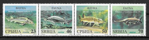 colección sellos Sebia fauna 2018