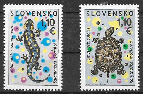 sellos fauna Eslovaquia 2009
