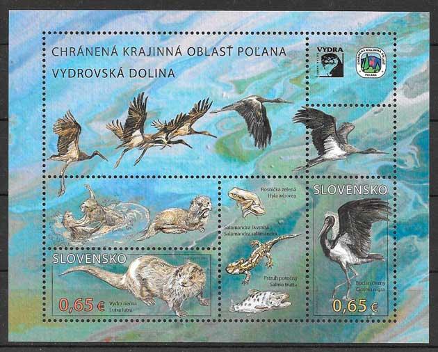 sellos fauna Eslovaquia 2015