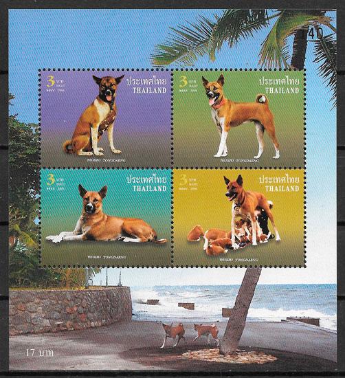 sellos perros Tailandia 2006