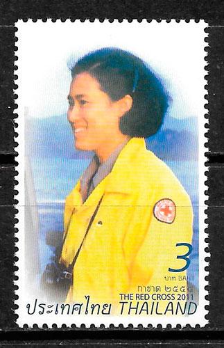 sellos cruz roja Tailandia 2011
