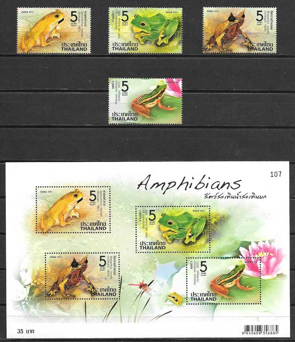 sellos fauna Tailandia 2014