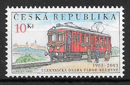 sellos transporte Chequia 2003