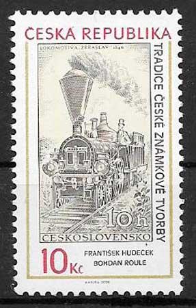 sellos transporte 2008 Chequia