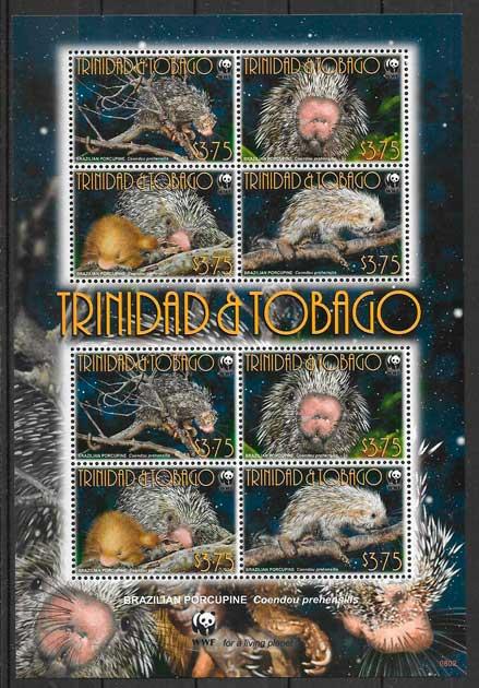 sellos fauna wwf Trinidad y Tobago