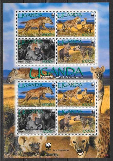 sellos fauna wwf Uganda