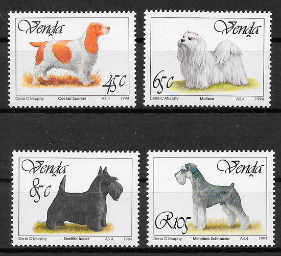 filatelia perros Venda 1994