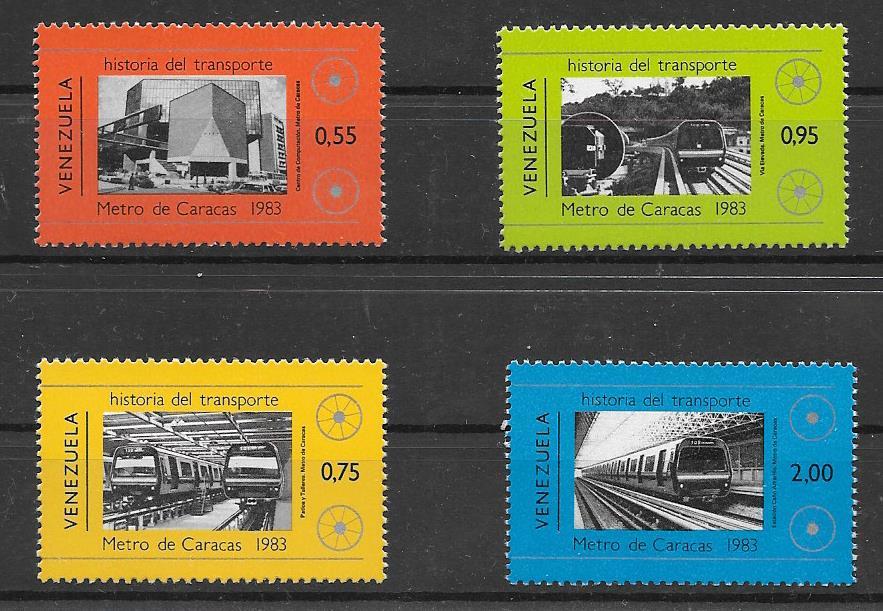 Sellos colección Venezuela-1984-01
