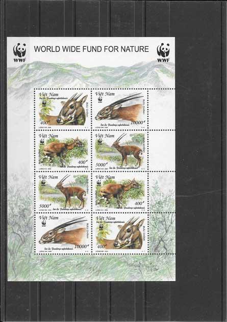 Colección sellos Viet-Nam-2000-02