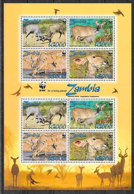 SELLOS FAUNA WWF ZAMBIA