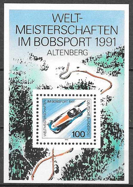 sellos colección olimpiadas Alemania 1991