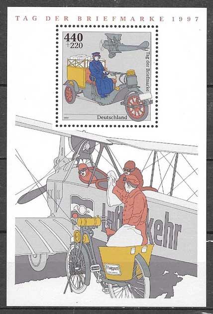 filatelia transporte Alemania 1997