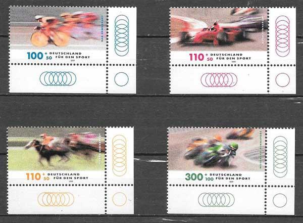 sellos carreras Alemania 1999