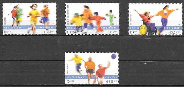 sello deporte Alemania 2001