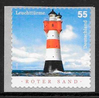 sellos faros Alemania 2004