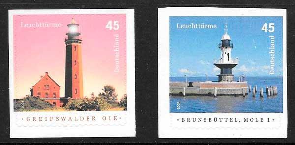sellos faros Alemania 2006